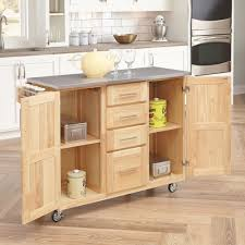 kitchen cart with stainless steel top home design photo gallery