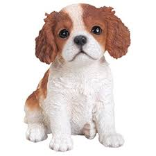 pet pals king charles spaniel puppy ornament by arts