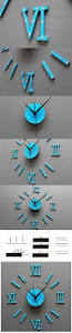 beautiful decorative mirror wall clock instructions 34 about