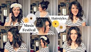Easy Country Hairstyles by 7 Music Festival Hairstyles Missfashioneda Youtube