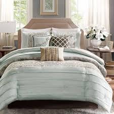 Bedding Sets Blue Home Essence Richardson 7 Piece Comforter Set Walmart Com