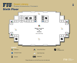 Fiu Campus Map Library Floorplans Fiu Libraries