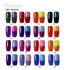 nail gel mood changing gelish 15ml nail art soak off long lasting