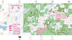Classic Maps Using Gaia Gps To Find Free Camping In National Forests Gaia Gps
