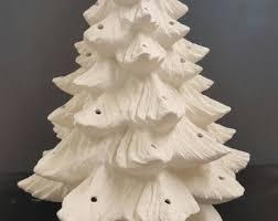 Ceramic Christmas Tree Decorations To Paint by Ceramic Tree Etsy