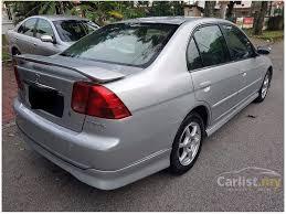 honda civic 1 7 vtec for sale honda civic 2004 vtec 1 7 in kuala lumpur automatic sedan silver