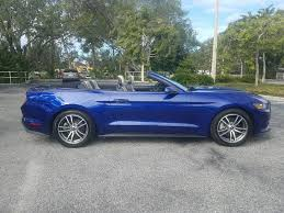 pre owned ford mustang convertible certified pre owned 2015 ford mustang premium convertible ecoboost