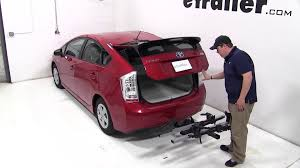 toyota prius bike rack review of the thule t2 platform style hitch bike rack on a 2011