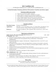 Non Technical Skills Resume Help Desk Cover Letter Entry Level Image Collections Cover