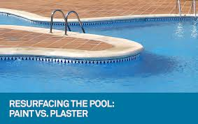 paint or plaster the answer for your pool resurfacing needs