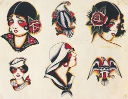 41 best vintage tattoo flash gypsy images on pinterest searching