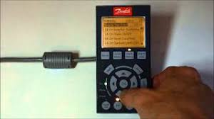 how to initialise a vlt frequency drive youtube