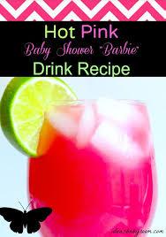 Pink Cocktails For Baby Shower - baby shower u201cbarbie u201d drink baby room ideas