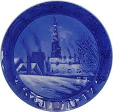 1917 collector s plate by royal copenhagen from