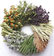 fall wreaths to diy or buy flax twine