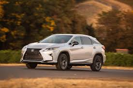 lexus sport tuned suspension fourth generation 2016 lexus rx midsize crossover redesigned for