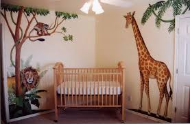 Decoration Baby Nursery Wall Decals by Baby Nursery Comely Jungle Baby Nursery Room Decoration Using