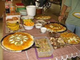 Dining Table With Food Dining Table With Food Interior Design