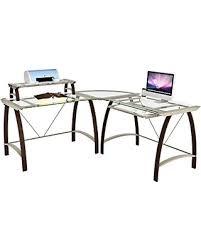 Z Line Designs Computer Desk Get The Deal Z Line Designs L Desk Bronze