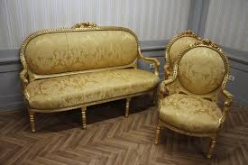 canape style ancien style ancien style baroque salon 2 chaises 1 canapé kesa1100