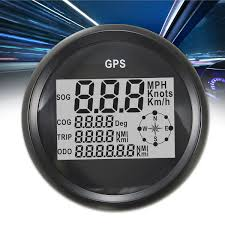 black gps speedometer waterproof digital gauge for auto car truck