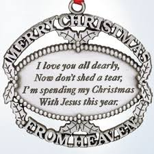 merry from heaven pewter ornament doxologi