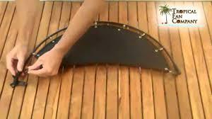 nautical raindance ceiling fan blades youtube