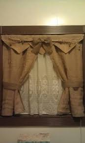 prim homespun curtains just lovely would look amazing with a