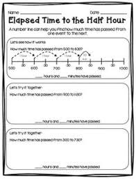 fun with elapsed time and a freebie elapsed time word problems