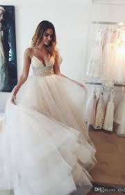 alencon lace appliques on tulle dress with scalloped hemline