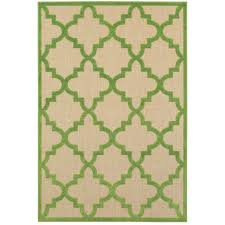 Green And Brown Area Rugs Oriental Weavers Cayman 660f9 Sand Green Area Rug Kaoud Rugs