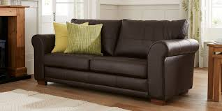 Next Leather Sofas Buy Toulouse Leather Large Sofa 3 Seats Columbia Brown