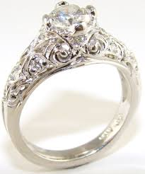 wedding rings vintage vintage style wedding rings szahmed wedding ideas style