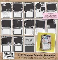 12 best digital scrapbook calendars images on pinterest burlap