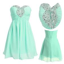 green cocktail high quality short mint green cocktail homecoming dresses with