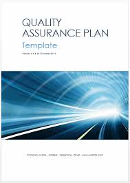 Quality Assurance Excel Template Quality Assurance Plan Templates Ms Word Excel