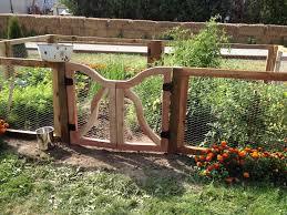 Types Of Garden Fencing Rustic Garden Fence Ideas Home U0026 Gardens Geek