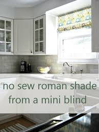 No Sew Roman Shades How To Make - diy roman blinds from mini blinds u2013 domestic geek