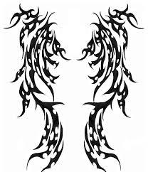 tribal wings design by harlem remedy on deviantart