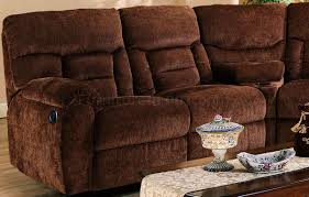 Fabric Sectional Sofa With Recliner by Chennile Fabric Sectional Sofa W Recliner Seat