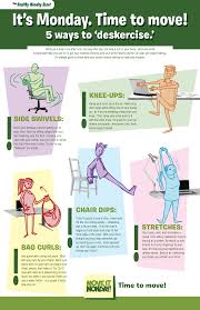 Office Desk Exercise Simple 5 Ways To Exercise At Your Office Theses Exercises Can Be