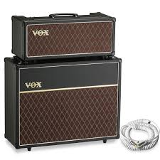 vox ac30 2x12 extension cabinet vox ac15 head and v212c 2x12 cabinet free vox cable at gear4music com