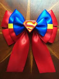superman ribbon well i couldn t do woman and batman and no superman so
