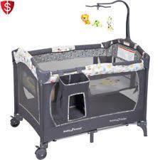 rocking bassinet baby cradle infant newborn crib playpen musical