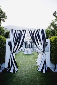 wedding ideas black and white wedding aisle decorations black