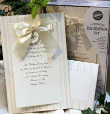 brides wedding invitation kits ca diy wedding invitations print your own kits by wilton