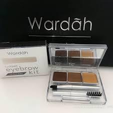 Wardah Kit wardah eyexpert eyebrow kit elevenia