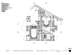 of the arts third floor plan archnet