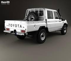 land cruiser pickup conversion toyota land cruiser j79 double cab pickup 2012 3d model hum3d