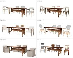 ask the audience chairs to go with my new dining table emily
